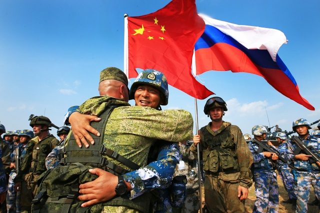 Joint Sea Drill 2016 - Russia and China military exercise